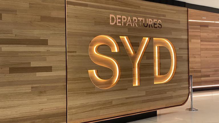 シドニー国際空港 出発ゲート