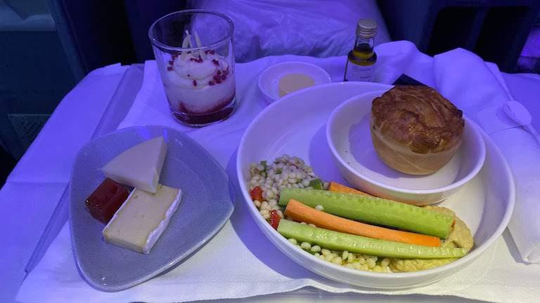 ラタム航空ビジネスクラス 機内食