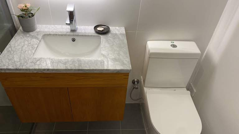 SYDNEY HOTEL QVB バスルーム