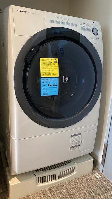 東急ステイ那覇 ドラム式洗濯機